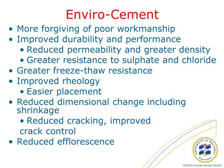 Enviro-Cement