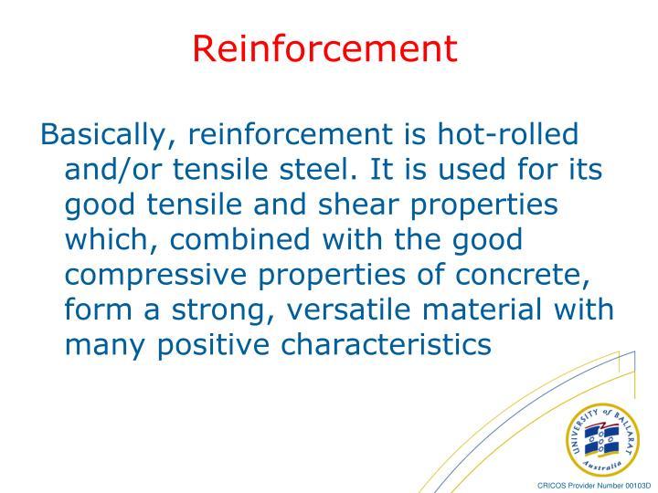 Reinforcement