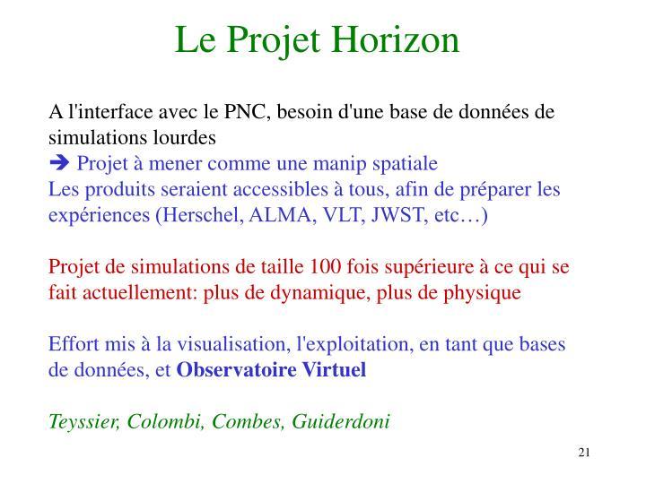Le Projet Horizon