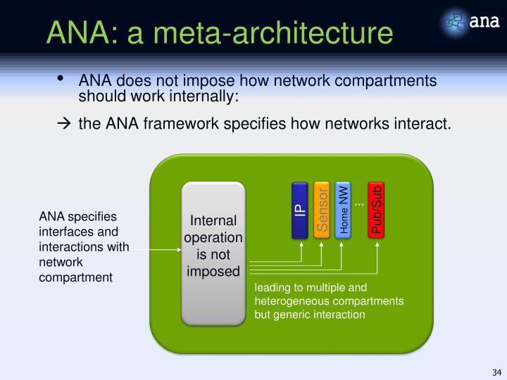 ANA: a meta-architecture