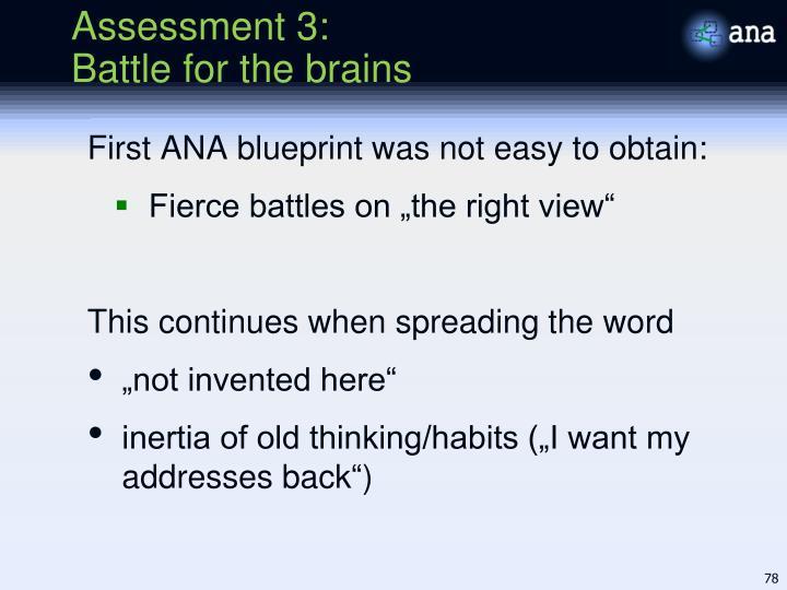 Assessment 3: