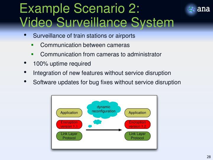 Example Scenario 2: