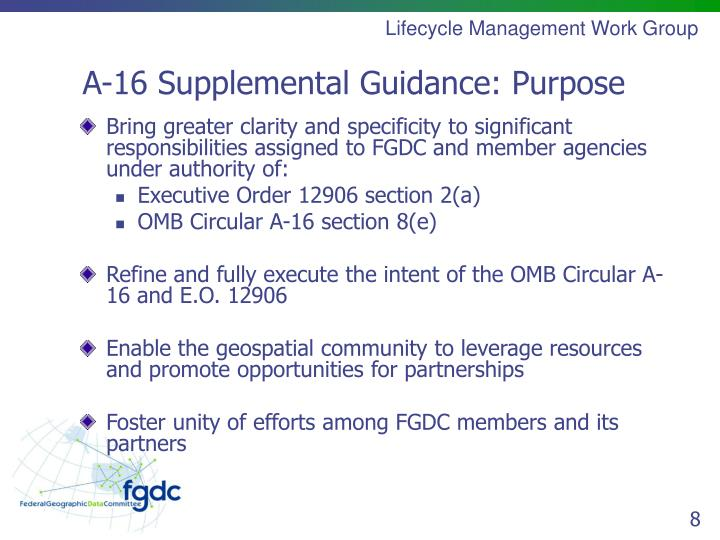 Lifecycle Management Work Group