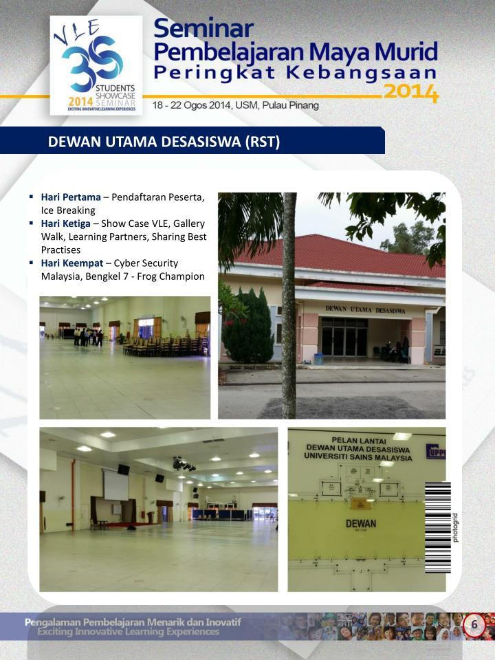 DEWAN UTAMA DESASISWA (RST)