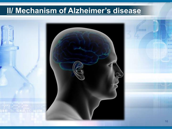 II/ Mechanism of Alzheimer's disease