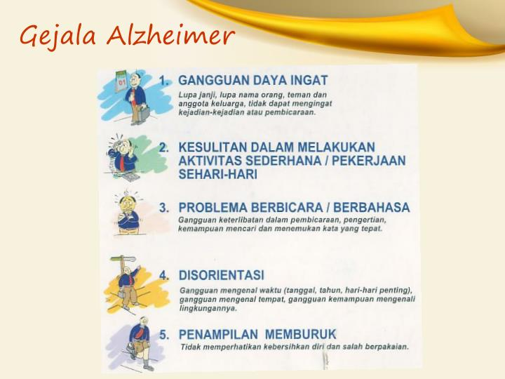 Gejala Alzheimer