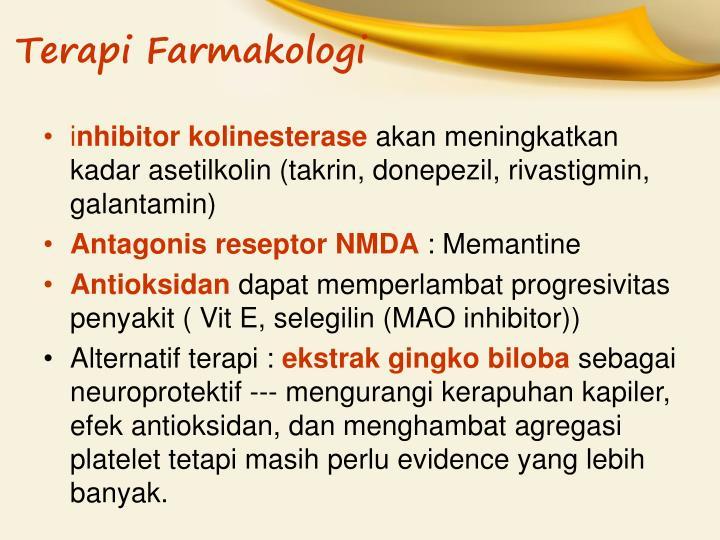 Terapi Farmakologi