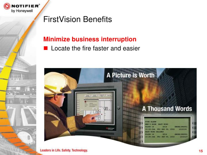 FirstVision Benefits
