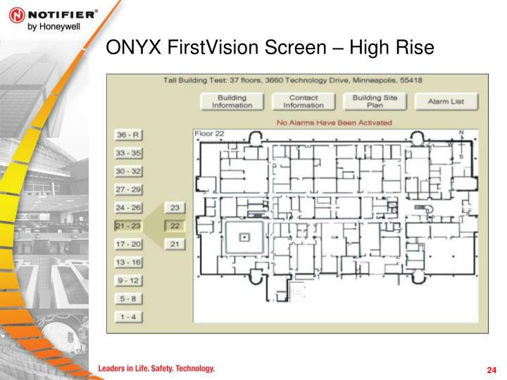 ONYX FirstVision Screen – High Rise