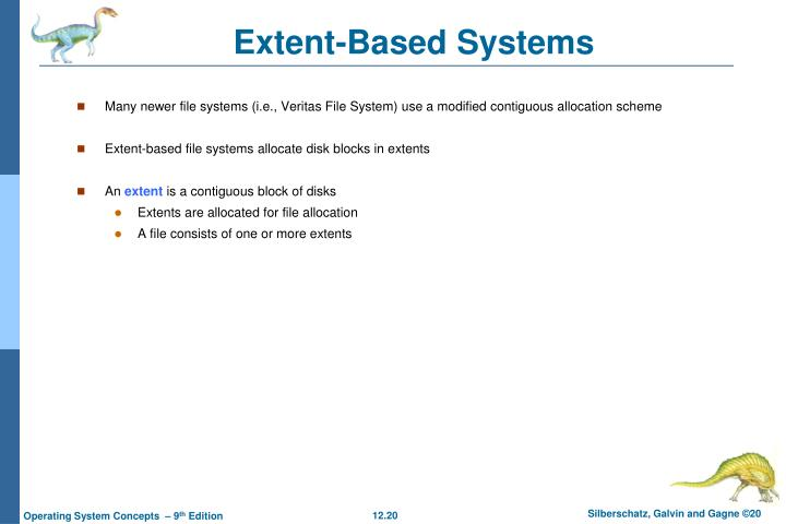 Extent-Based Systems
