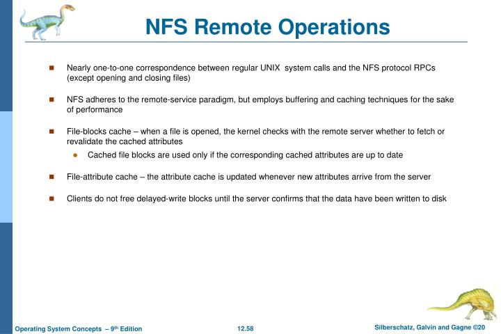 NFS Remote Operations