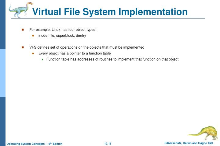 Virtual File System Implementation