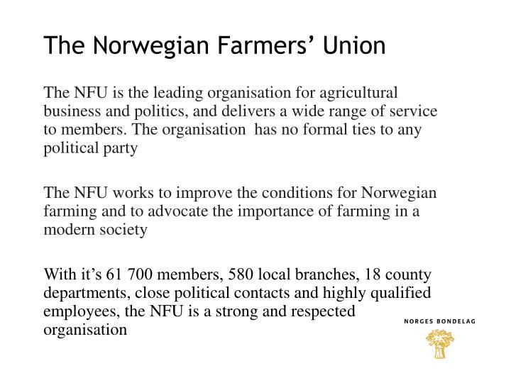 The Norwegian Farmers' Union