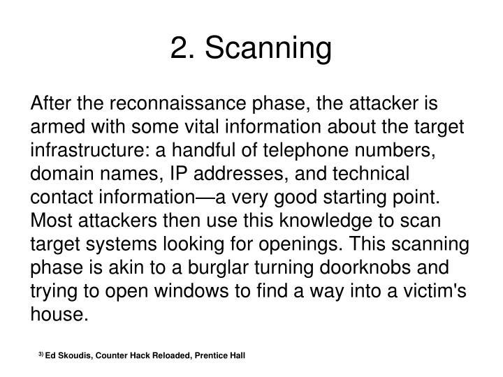 2. Scanning