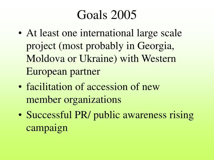 Goals 2005