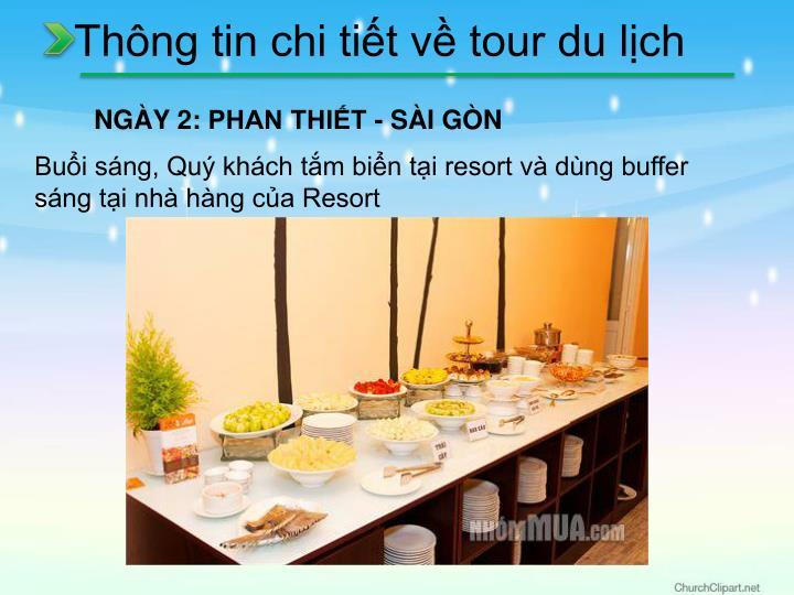 Thông tin chi tiết về tour du lịch