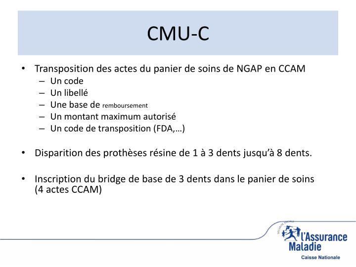 CMU-C