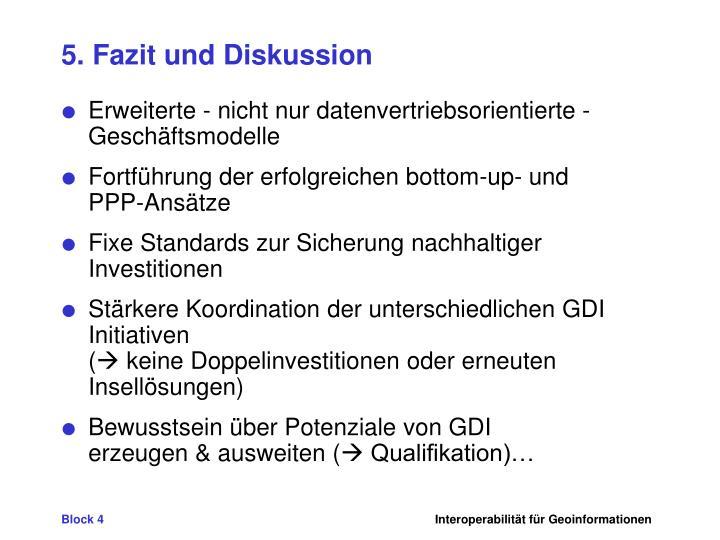 5. Fazit und Diskussion