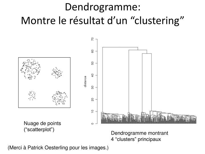 Dendrogramme: