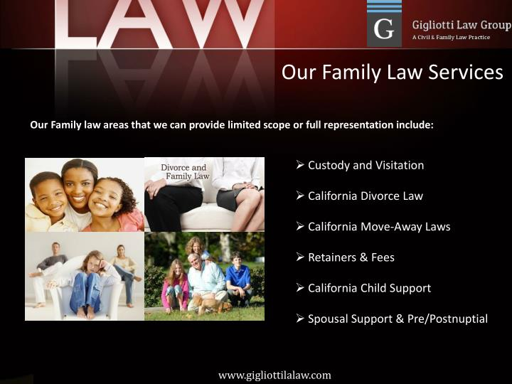 Our Family Law Services