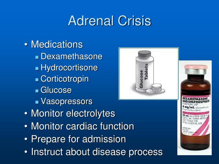 Adrenal Crisis