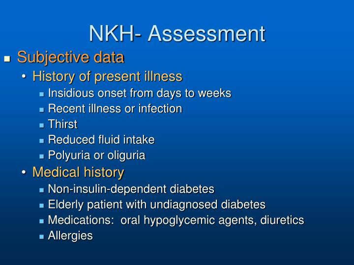 NKH- Assessment