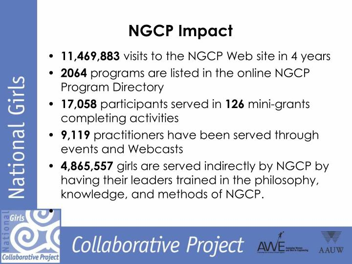 NGCP Impact