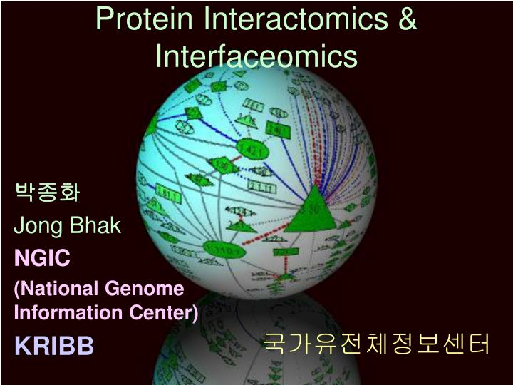 Protein interactomics interfaceomics