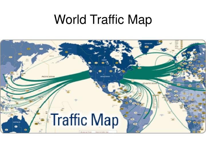 World Traffic Map