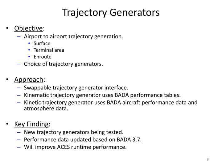 Trajectory Generators
