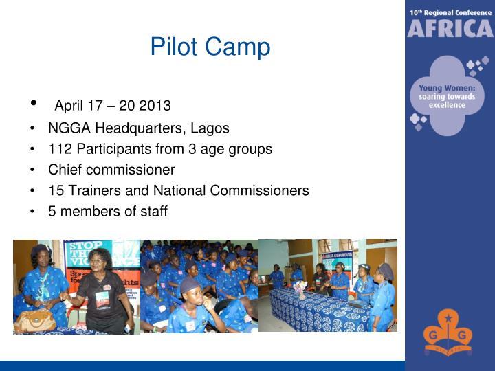 Pilot Camp