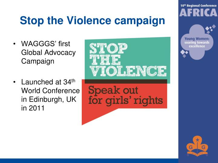 Stop the Violence campaign