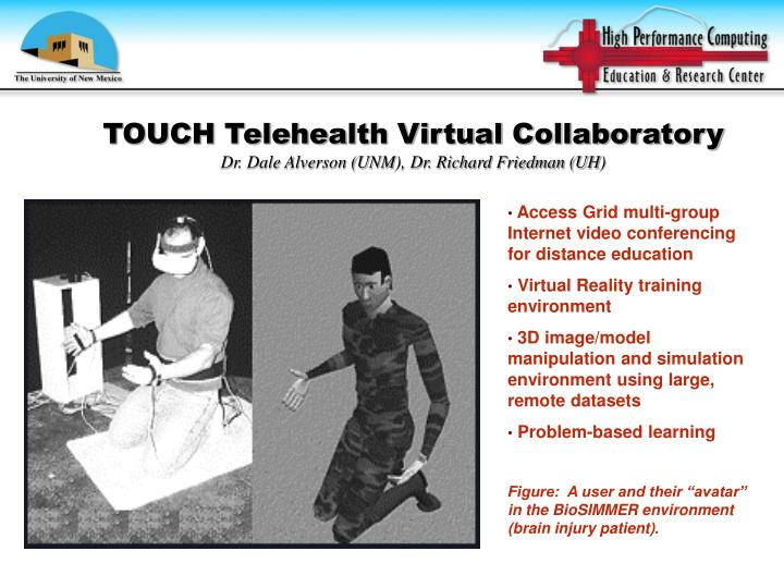 TOUCH Telehealth Virtual Collaboratory