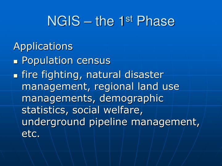 NGIS – the 1