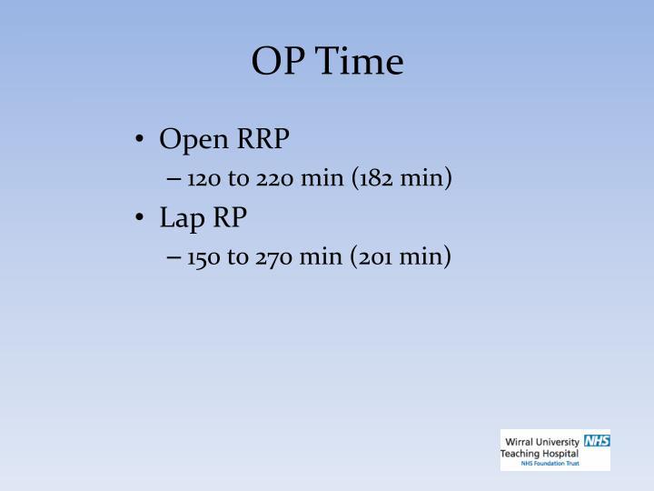 OP Time