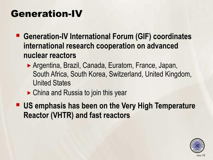 Generation-IV