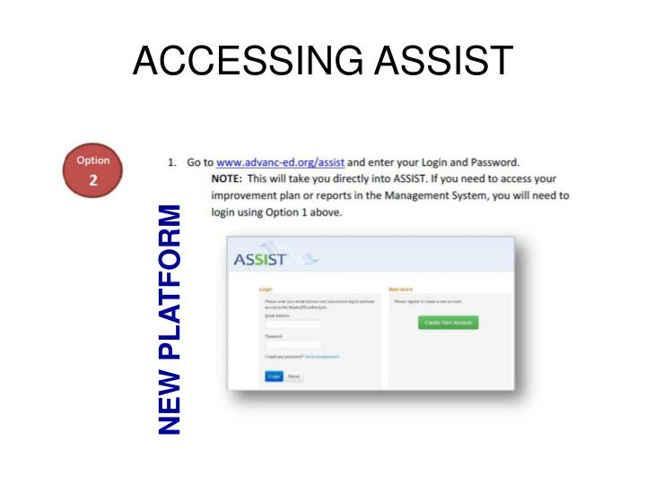 ACCESSING ASSIST