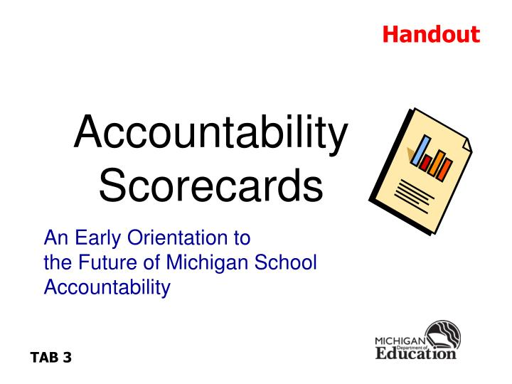 Accountability Scorecards