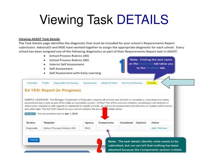 Viewing Task