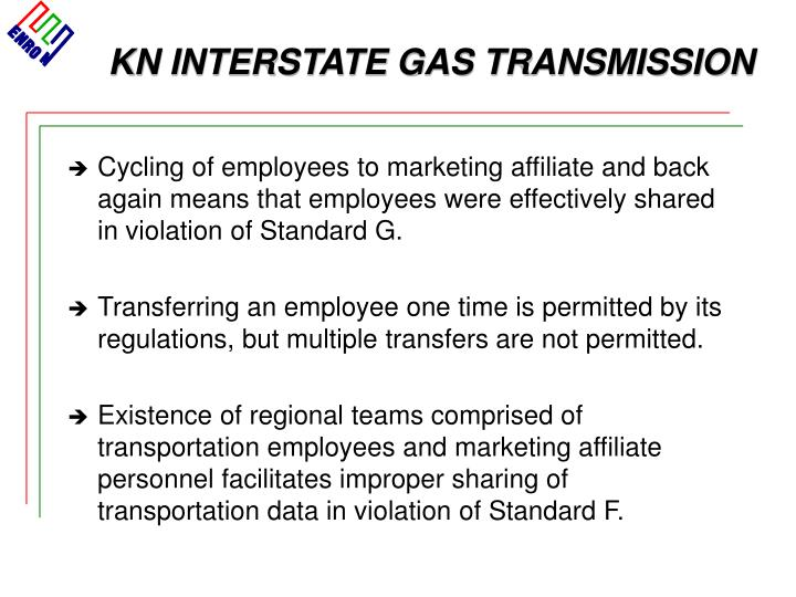 KN INTERSTATE GAS TRANSMISSION