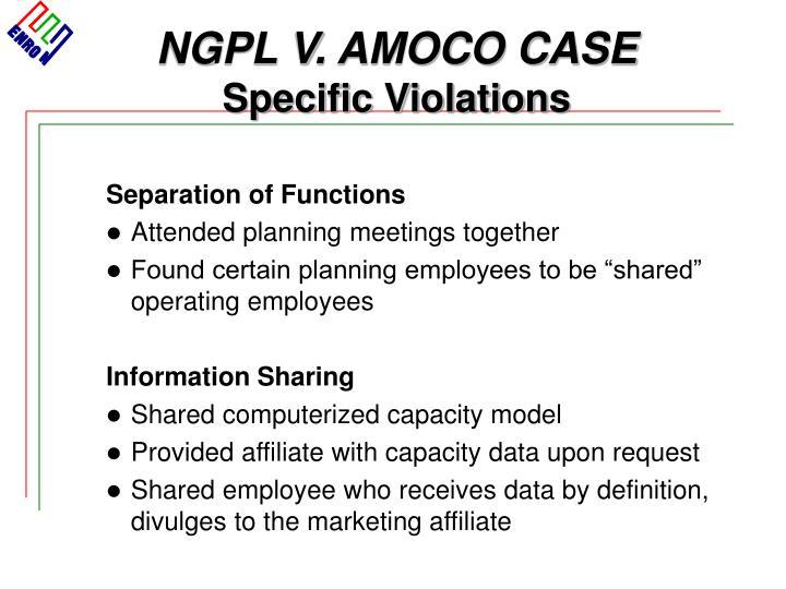 NGPL V. AMOCO CASE