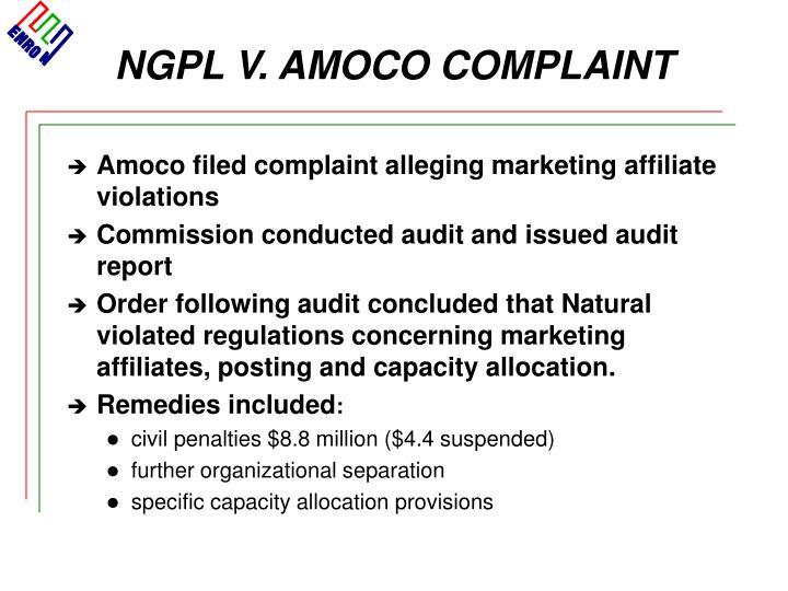 NGPL V. AMOCO COMPLAINT