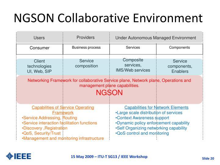 NGSON Collaborative Environment