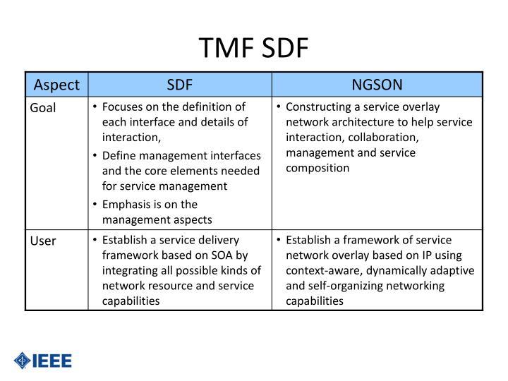 TMF SDF