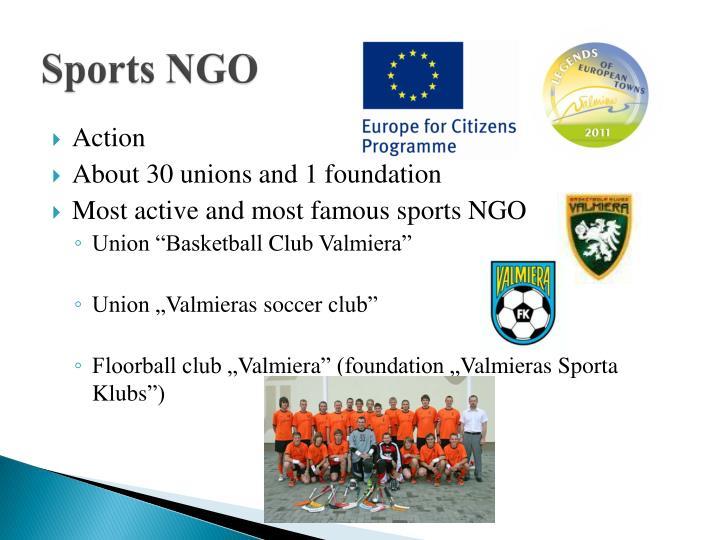 Sports NGO