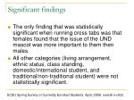 significant findings2