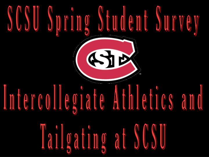 SCSU Spring Student Survey