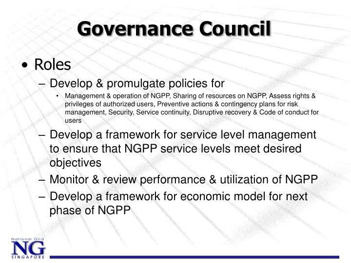 Governance Council