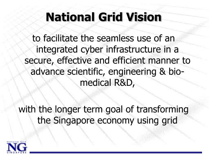 National grid vision