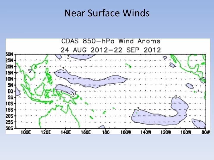 Near Surface Winds